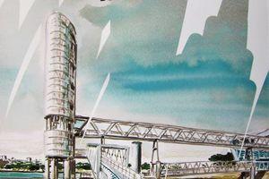 Rencontre nationale urban sketchers de Lorient... dernière ligne droite