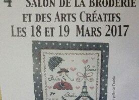 4ème Salon de la Broderie et des Arts Créatifs 2017