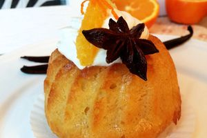 Savarin au rhum, orange & vanille - Bataille Food #30