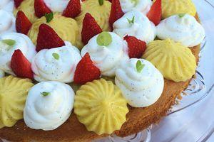 Fantastik citron, vanille, fraises  #Fête des pères
