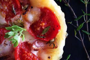 Tartelettes tomate mozzarella