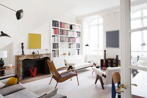 L'appartement parisien d'Emmanuel de Bayser