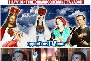 Message du Sacré Cœur de Jésuset de Gianetta Vacchi- Jacarei 26 Mai 2016 - Fête du Corps du Christ