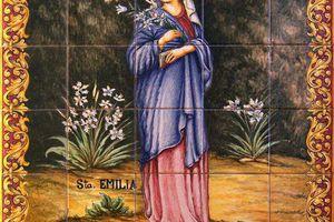 Message de Sainte Emilie - Jacarei 5 Juin 2016 -Il y a eu 2 Messages : 1 de Notre Dame Reine et Messagère de la Paix (déjà reçu) et 1 de Sainte Emilie.
