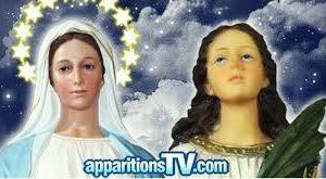 Messages de Notre Dame et de Sainte Lucie de Syracuse- Jacarei 20 Août 2016 -Tant que le rosaire est prié aucun pécheur n'est perdu ...