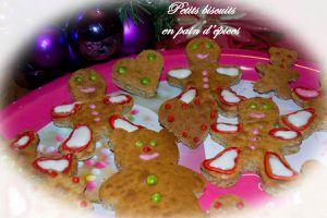 Petits biscuits en pain d'épices