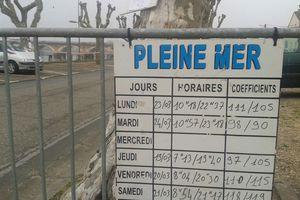 Libourne, Gironde, grande marée du siècle (bref, tous les 18 ans)