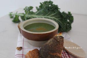 Potage vert au chou Kale