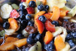 Une belle salade de fruits