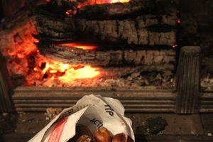 Châtaignes grillées du Morvan