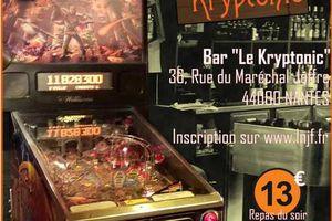 tournoi de flipper au bar le kryptonic a nantes