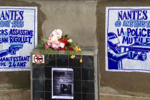 Des citoyens ravivent la mémoire de Jean Rigollet tué par la police en 1955