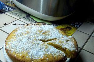 Gâteau coco, citrouille (ou potiron)