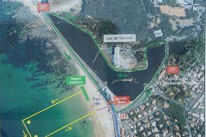 Triathlon des Sables d'Olonne 2014 D2 : (3) l'épreuve de course à pieds
