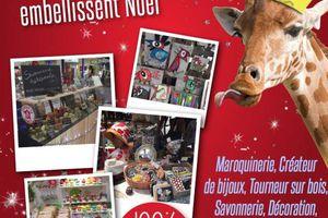 Marché de Noël galerie commerciale les Olonnes