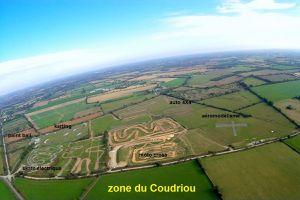 Photos aériennes du site du Coudriou au château d'olonne