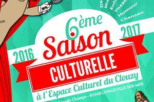 6ème programmation culturelle de l'Espace Culturel du Clouzy