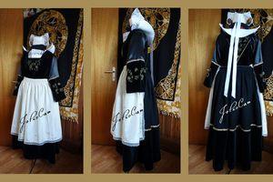 mon costume breton est terminé