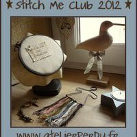 Stitch Me Club 2012 Sampler . . . finition