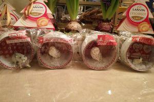 Petites boîtes enneigées Noël 2016 de TOGA