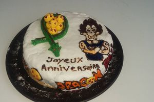 Gâteau Dragon Ball Z