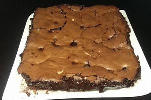 brownie à l'aquafaba