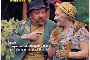 Sur le banc avec Raymond Souplex et Jane Sourza - Vendredi 13