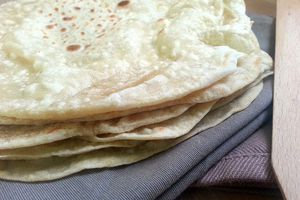 Pains indiens chapatis