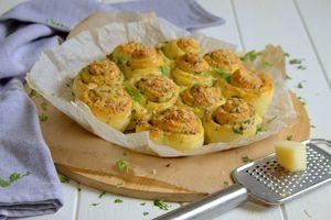 Roulés au beurre à l'ail
