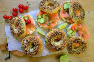 Bagels aux graines et épices