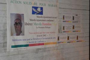 Opération affichage à l'ambassade du Cameroun en Belgique
