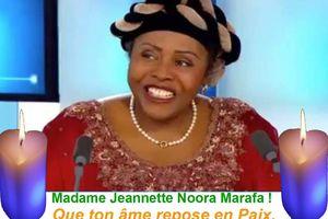 Décès de Jeannette Marafa: Le message de condoléance de ASMA (Action Solidaire pour Marafa)