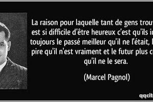 Marcel Pagnol - 3 Citations