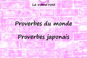 Proverbes japonais