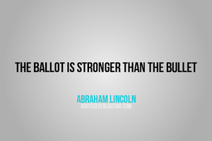 Abraham Lincoln - English - 5 Quotes