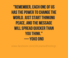 Yoko Ono - English - 2 Quotes