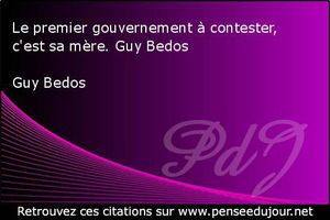 Guy Bedos - 2 Citations