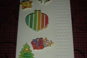Carte de Noël simple