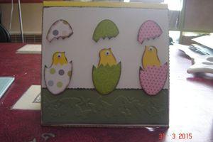Carte de Pâques pour une copine
