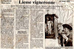 Saint-Vincent, patron des vignerons