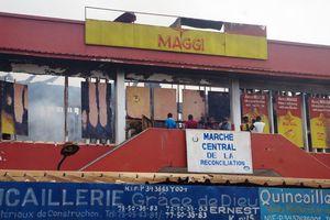 CENTRAFRIQUE: LE NOUVEAU MAIRE DE BANGUI EMILE GROS NAKOMBO NETTOIE LE MARCHE CENTRAL
