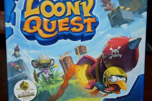 Ce weekend on joue à Loony Quest édité par Libellud !