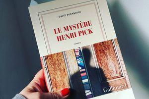 Le mystère Henri PICK, de David Foenkinos