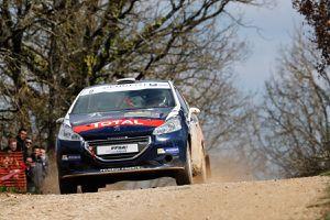 communiqué Peugeot 208 rally cup