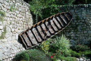 Barque à Entraygues-sur-Truyère