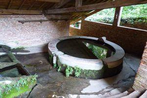 Le lavoir Soubira de Rabastens dans le Tarn.