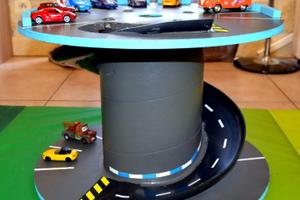 Garage pour petites voitures