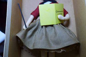 Restauration d'anciennes poupées peynet