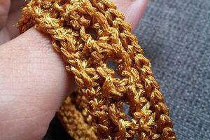 Bracelets antiques... au tricot !