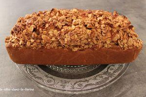 Gâteau Pomme/Avoine